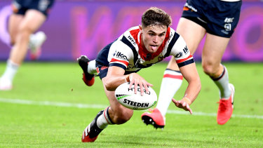 Kyle Flanagan was axed for the Roosters' clash with the Dragons.