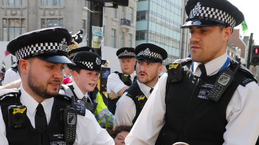 Police in London, where the project was initiated.