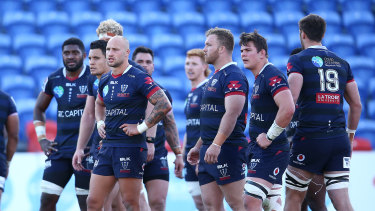 The Melbourne Rebels were made to work hard in their four-point win over the Western Force on Saturday.