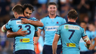 Karmichael Hunt is on the outer at NSW.