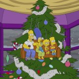 Sideshow Bob gets contracted as a mall Santa in this Simpsons Christmas special.