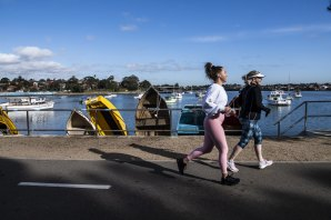 The path would take in sections of the foreshore that are already publicly accessible - such as the popular Bay Run route in Sydney's inner west.