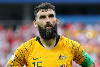Former Socceroos captain Mile Jedinak admits he has no idea what the future has in store for him.