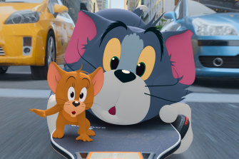 Tom and Jerry are tamed but not transformed in live-action reboot.