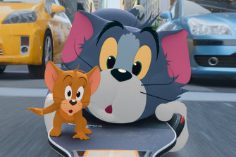Animated leads Tom and Jerry explore New York in this live-action reboot.