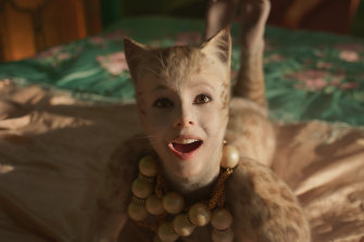 Francesca Hayward as Victoria in a scene from Cats.