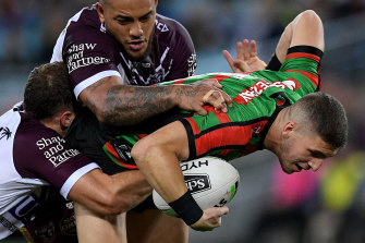 Adam Doueihi was excellent at the back for Souths towards the end of last season.