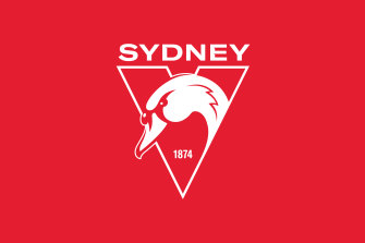 The Sydney Swans have a new logo, with the iconic 'feathers' of the Opera House no longer at the heart of it.