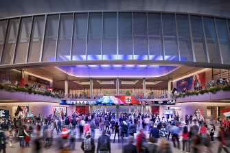 Marvel Stadium and the Docklands precinct will have a $225 million upgrade.