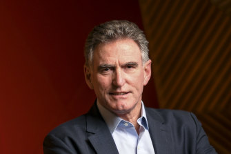NAB chief Ross McEwan has warned against government spending cuts as the economy bounces back from COVID-19.