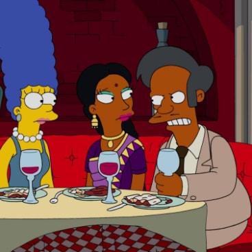 Apu in The Simpsons