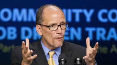Chairman of the Democratic National Committee Tom Perez.