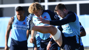On a mission: The Waratahs  have the opportunity to secure a 100 per cent winning record against every other Australian franchise.