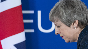 """British PM Theresa May says she is """"sceptical about such a process""""."""
