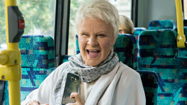 Tracey Ullman as Judi Dench in Tracey Ullman's Show.