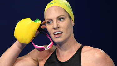 No excuses: Backstroke silver medallist Emily Seebohm