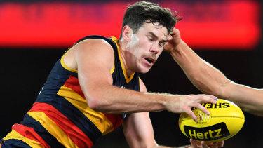 Crow Mitch McGovern will become a Blue.