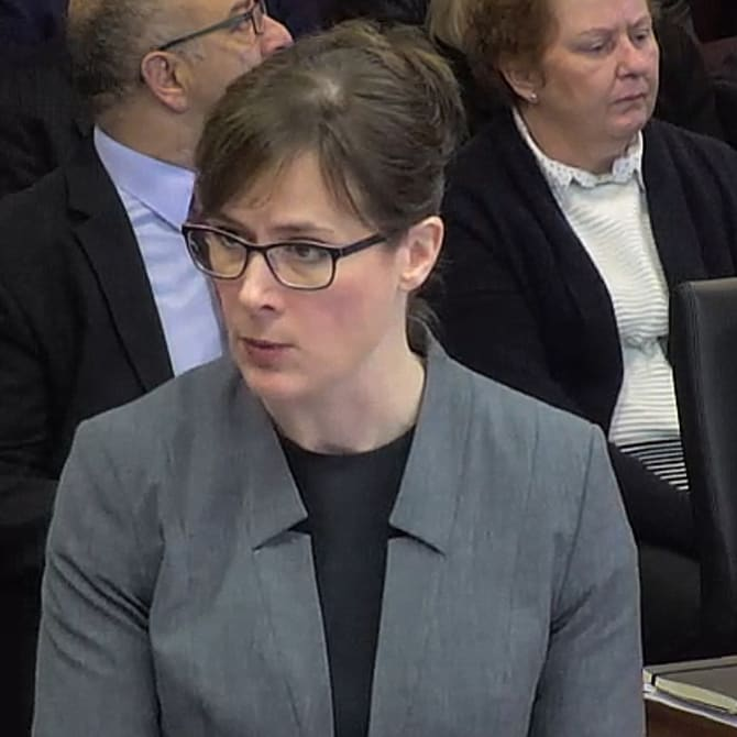 Rowena Orr, QC, counsel assisting the Royal Commission.