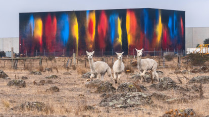 Spot the art: What's that colourful box on the Hume Freeway?