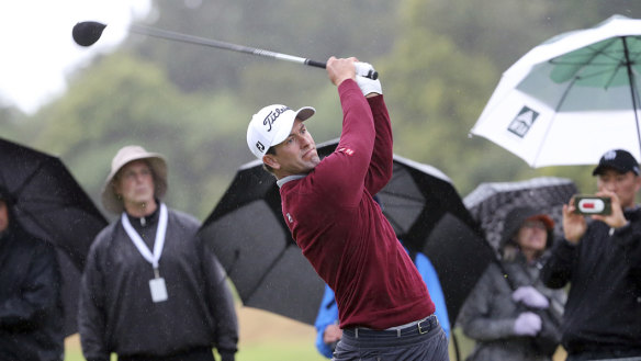 Contention: Adam Scott has another opportunity to break a three-year victory drought.