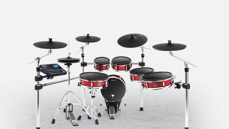 alesis strike pro review lower cost electric drums are hit and miss. Black Bedroom Furniture Sets. Home Design Ideas