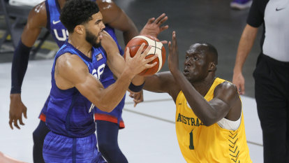 From South Sudan to Tokyo: Reath's rise to Boomers bolter