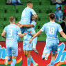 Hot in the City: Melbourne take the points in A-League