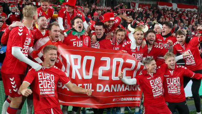 Swiss and Danes qualify for Euros as Italy score nine against Armenia
