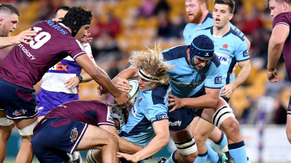 Waratahs bank on big broadcast deal to stem flow of players