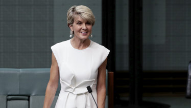The new role is the latest for Ms Bishop in her post-political life.