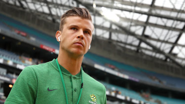 Mitch Langerak has shocked Australian soccer by announcing his immediate international retirement.