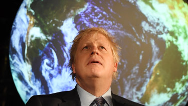 Prime Minister Boris Johnson has made climate change a key plank of his leadership.