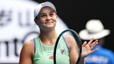 Riske business: Barty hoping for case of third time lucky