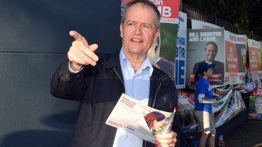 Bill Shorten has been able to get away with running destructive campaigns.