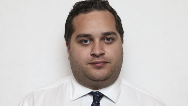 Josh Manuatu, the Liberal staff member  outed as the backroom operative in minister Angus Taylor's troubles with  Clover Moore.