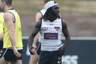 Anthony McDonald-Tipungwuti has a minor calf strain which the club hopes will not hold him back for long.