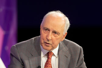 Paul Keating defends the principles of the super system, such as its compulsory nature, of which he was chief architect