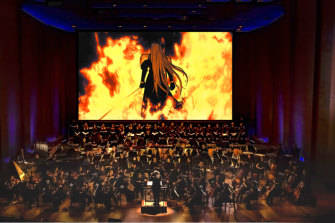 Final Fantasy in concert is a global hit.