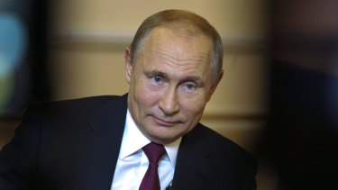 Vladimir Putin: The Kremlin traffics in conspiracy theory.