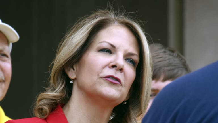 Arizona Republican US Senate candidate Kelli Ward