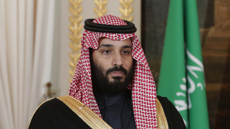 Saudi Arabia Crown Prince Mohammed bin Salman, pictured in April, has ordered the arrest of hundred of political opponents since assuming power.