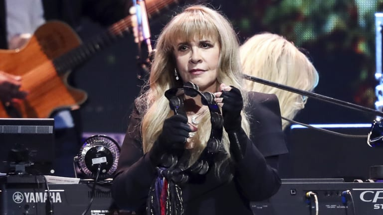 Stevie Nicks becomes the first woman to be inducted twice.