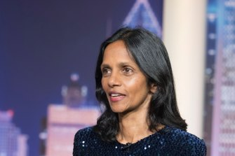 """""""Despite the ongoing risks the Australian economic recovery continues to lead the world, with medical success allowing the government to re-open much of the economy"""": Macquarie Group chief executive Shemara Wikramanayake"""