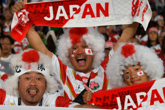Timezone trump card? Japan's success in 2019 could help Australia make a compelling case to host the 2027 tournament.