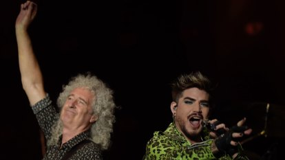Queen reprises famous 1985 Live Aid set at Fire Fight Australia concert