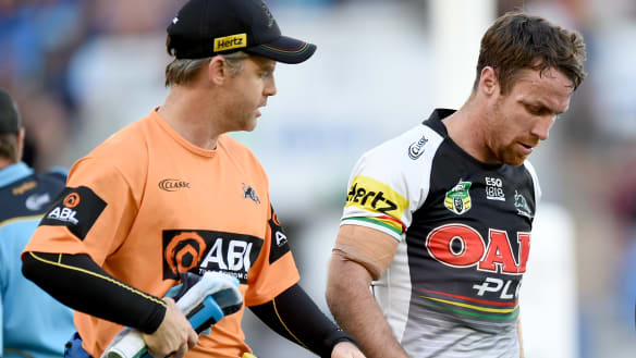 Maloney out for only fortnight in boost for Penrith's top-four hopes