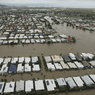 North Queensland has been hit by a one-in-500-year flood disaster.