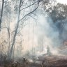 Fire dangers ease but firefighters continue battling blazes in Qld