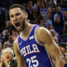 Simmons stars as 76ers open their NBA season by thumping Boston