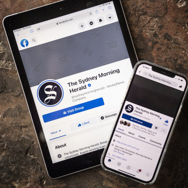 Facebook media pages such as The Sydney Morning Herald's have been blocked from posting and news links can no longer be shared on the platform.